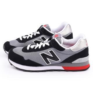 【New Balance】男款 麂皮復古運動鞋(ML515CCC-黑灰)