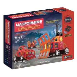 【Magformers】磁性建構片-自動重型車(2015新品上市)