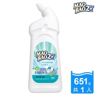 【毛寶兔】毛寶兔超果酸馬桶去垢除臭清潔劑651g(不含鹽酸)