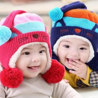 【韓版】可愛小貓造型護耳保暖帽