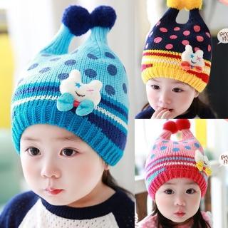 【韓版】可愛小兔子毛線帽