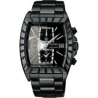 【WIRED】星際戰艦三眼計時腕錶(7T92-X236N AGAV0691)