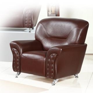 【品生活】後工業風格造型1人沙發(168)