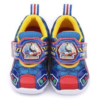 【童鞋城堡】湯瑪士 中童 LED電燈運動鞋(TH50013-藍)