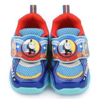 【童鞋城堡】湯瑪士 中童 LED電燈運動鞋(TH50020-藍)