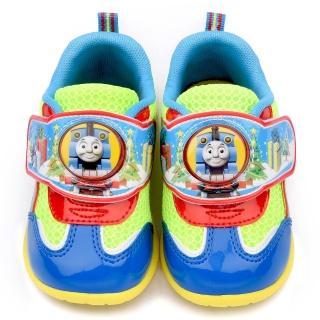 【童鞋城堡】湯瑪士 中童 LED電燈運動鞋(TH86046-藍)