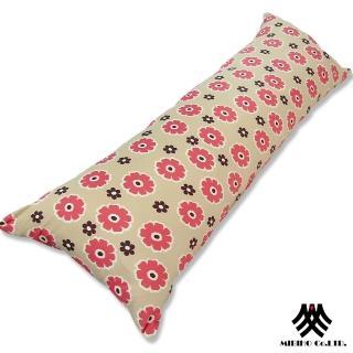 【M.B.H-繽紛朵朵】長型抱枕