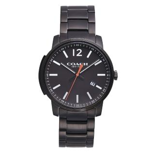 【COACH】Bleecker時尚腕錶(黑面x黑鋼/14602003)