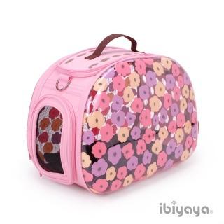 【IBIYAYA依比呀呀】透明膠囊寵物提包-圓仔花(FC1220)
