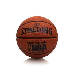【SPALDING】NBA GRIP CONTROL 籃球-七號球 室外(橘黑)