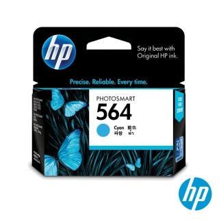 【HP】NO.564 原廠藍色墨水匣(CB318WA)