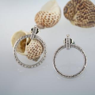 【xmono】圓圈925純銀耳環