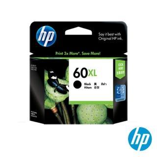 【HP】NO.60XL 原廠黑色墨水匣(CC641WA/高容量)