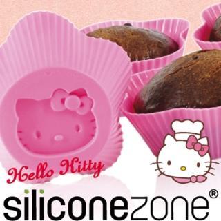 【Siliconezone】施理康Hello Kitty杯子蛋糕模(粉色)