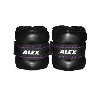 【ALEX】PU型多功能加重器-3KG-健身 有氧(依賣場)
