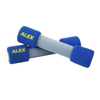 【ALEX】韻律無套啞鈴-4LB-健身 有氧運動(藍)