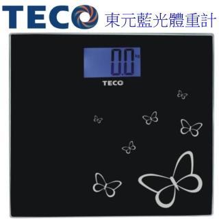 【TECO】東元藍光時尚體重計 XYFWT486