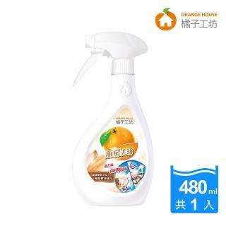 【橘子工坊】家用類天然廚房爐具專用清潔劑(480ml*1瓶)