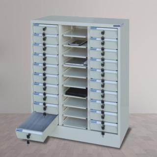 【時尚屋】DF多用途PC存放櫃30格不透明抽(RU5-DF-PC-30NB)