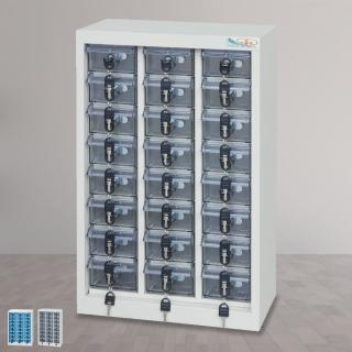 【時尚屋】DF精密零件櫃24格 透明/不透明盒(RU5-DF-MP-24)