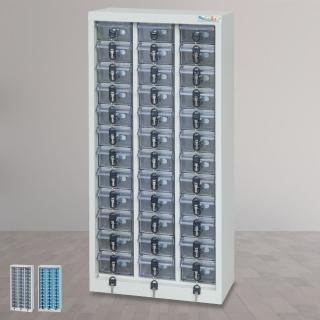 【時尚屋】DF精密零件櫃36格 透明/不透明盒(RU5-DF-MP-36)
