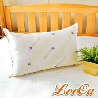 【LooCa】美國Microban抗菌羊毛枕(1入)