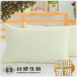 【台塑生醫】防蹣抗菌咖啡紗枕