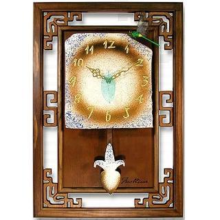 【開運陶源】Arrow好彩頭  藝術陶鐘 窗花(寬×高/40x60cm)