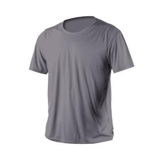 【HODARLA】激膚無感衣 男女涼感短T恤-0秒吸排抗UV輕量吸濕排汗無著感(鐵灰)