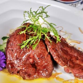 【鮮食家任選799】輝帛肉品美國安格斯雪花嫩肩牛排(100公克/包)