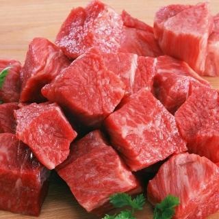 【鮮食家任選799】輝帛肉品美國安格斯梅花骰子牛(200公克/包)