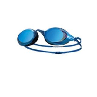 【SABLE】黑貂 成人競速型平光鏡片泳鏡-游泳 防霧 防雜光強光 3D鍍膜(藍)