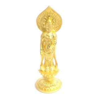 【十相自在】10.3公分 小佛像/法像-金色(觀世音菩薩)