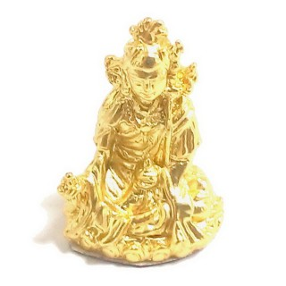 【十相自在】2.5公分 小佛像/法像-金黃色(蓮花生大士)