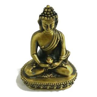 【十相自在】5.7公分 小佛像/法像-古銅色(阿彌陀佛)