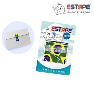 【ESTAPE】隨手貼OPP 瘋國旗(巴西風)