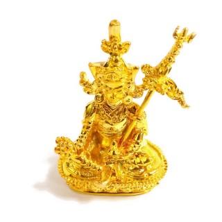 【十相自在】6.6公分 小佛像/法像-金黃色(蓮花生大士)