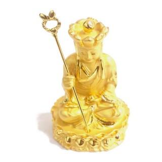 【十相自在】5.4公分 小佛像/法像-金色(地藏王菩薩)