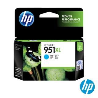 【HP】NO.951XL 原廠藍色墨水匣(CN046AA/高容量)