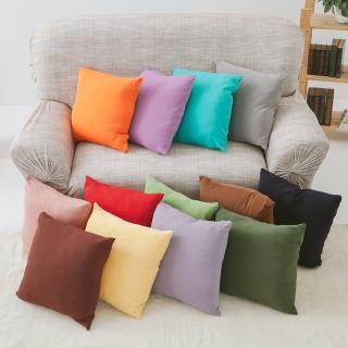 【格藍傢飾】瑪卡龍QQ抱枕套(11色任選)