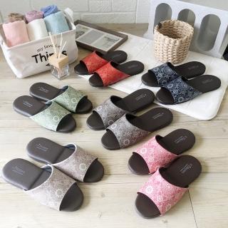 【iSlippers】台灣製造-經典皮質室內拖鞋-光年(12雙組)