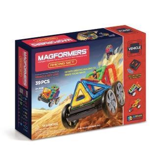 【Magformers】磁性建構片-遙控賽車(2015新品上市)