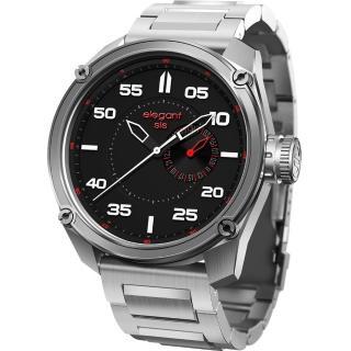 【elegantsis】Army 特務風雲日期時尚腕錶(ELJT47-PW01MA)