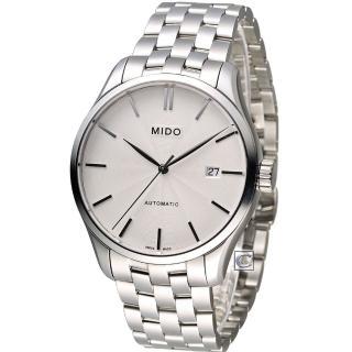 【美度錶 MIDO】Belluna II 80小時動力儲存機械錶(M0244071103100)