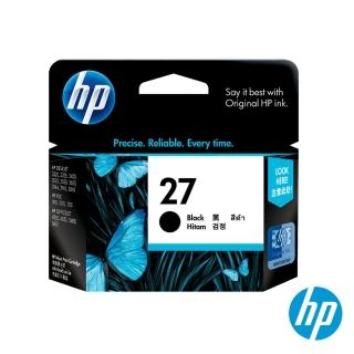 【HP】NO.27 原廠黑色墨水匣(C8727AA)