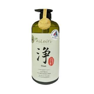 【AiLeiYi】天然潤膚沐浴精-淨茶樹艾草(1000ml)