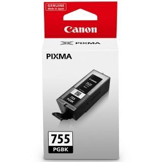 【CANON】PGI-755-BK 原廠黑色高容量XXL墨水匣(速達)