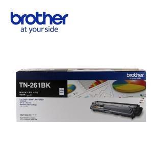 【Brother】TN-261BK 原廠黑色碳粉匣(速達)