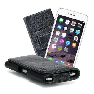 【X_mart】iPhone 6 plus / 6s plus 麗緻真皮腰掛皮套