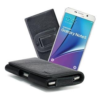 【X_mart】三星 Galaxy Note5/Note4/J7麗緻真皮腰掛皮套
